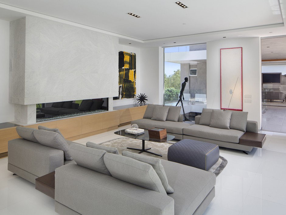 Ultramodern Masterpiece Home on Sunset Strip with Automated Wine Rack-11