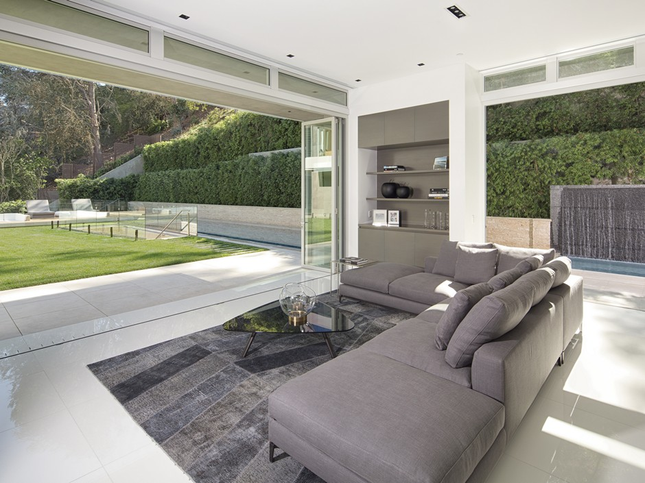 Ultramodern Masterpiece Home on Sunset Strip with Automated Wine Rack-13