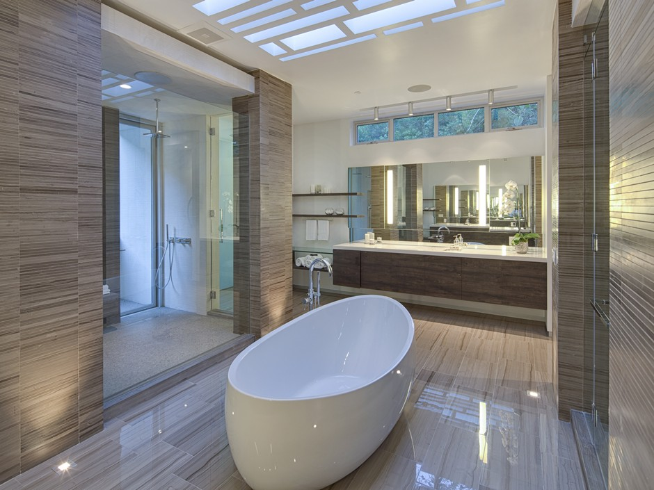 Ultramodern Masterpiece Home on Sunset Strip with Automated Wine Rack-17