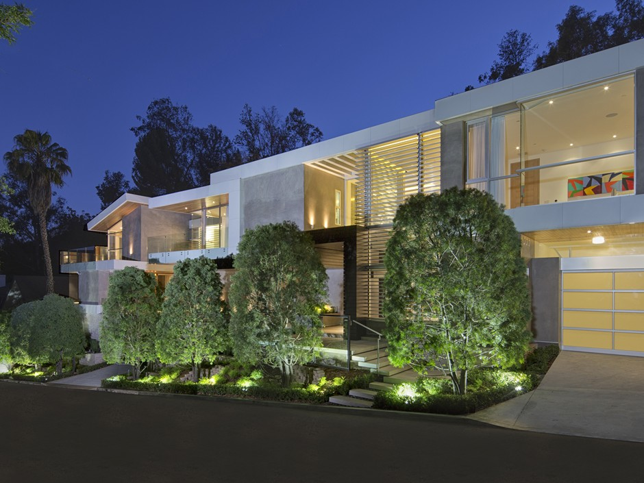 Ultramodern Masterpiece Home on Sunset Strip with Automated Wine Rack-20