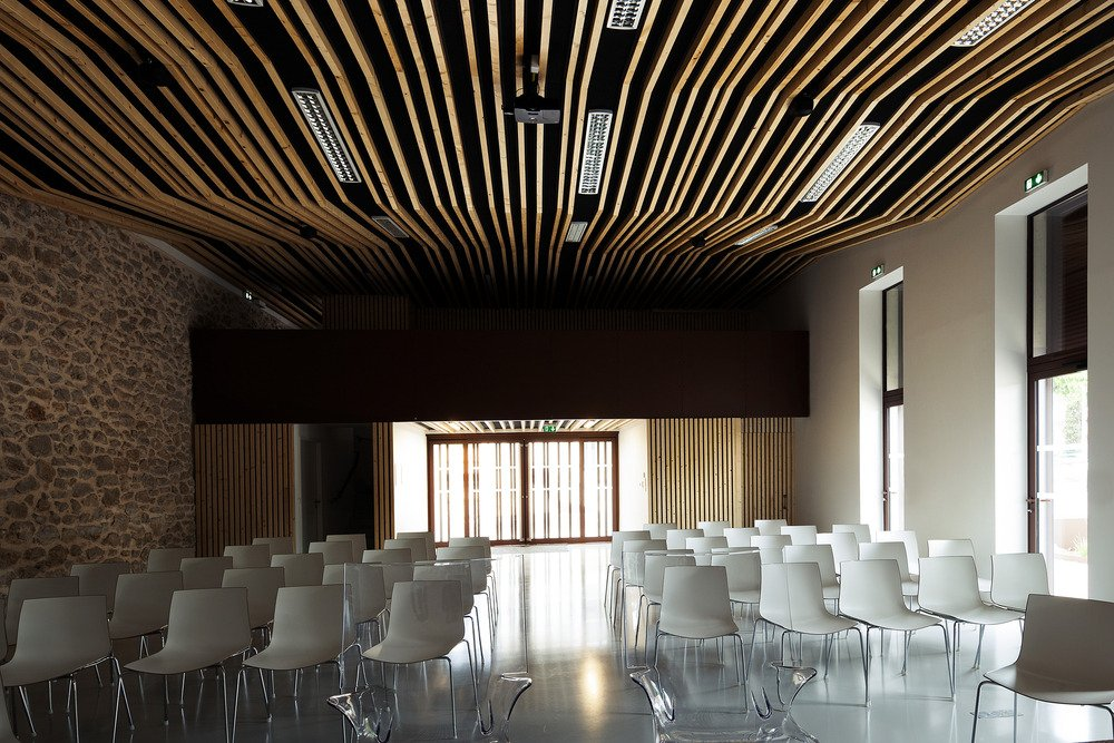 Wedding room and Town Hall square of Jacou by NBJ architectes-07