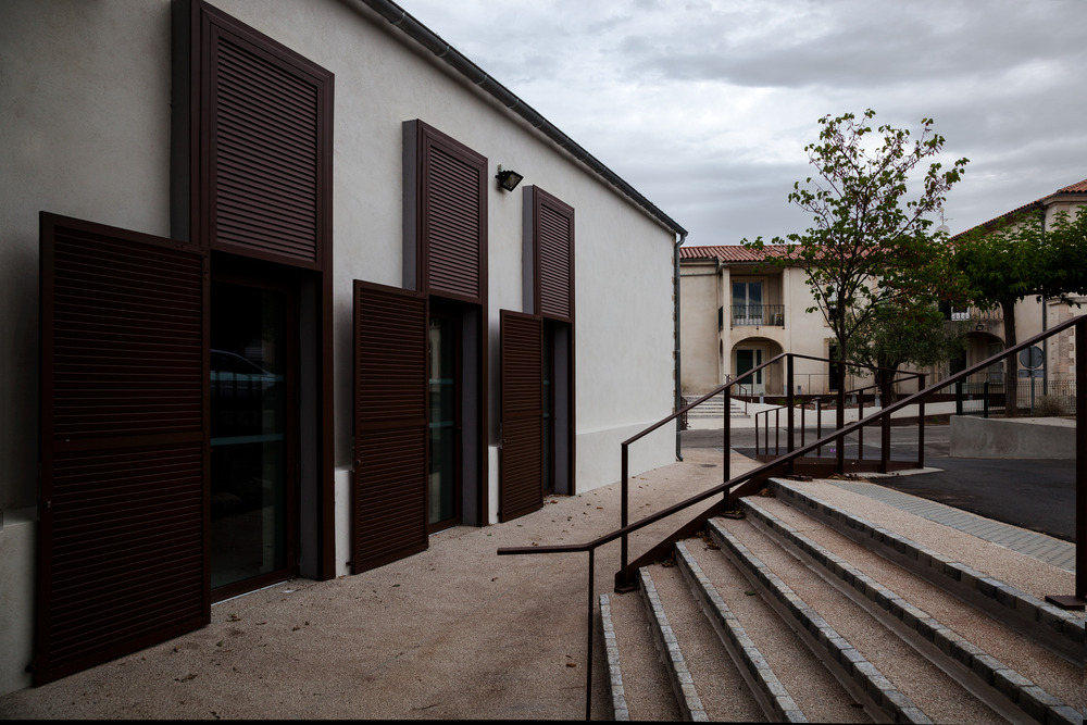 Wedding room and Town Hall square of Jacou by NBJ architectes-10
