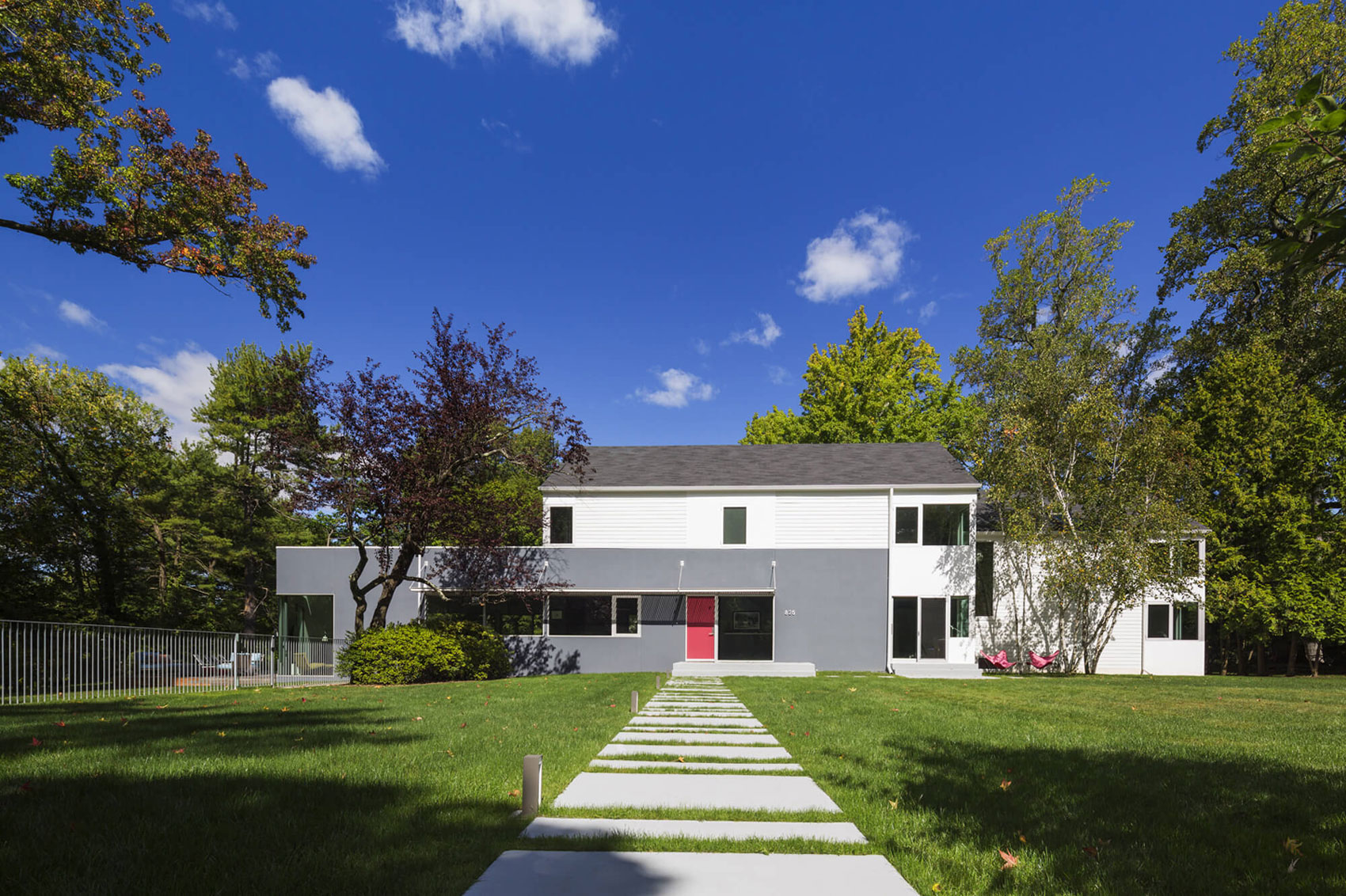 Westchester Colonial Style House by Fougeron Architecture-02