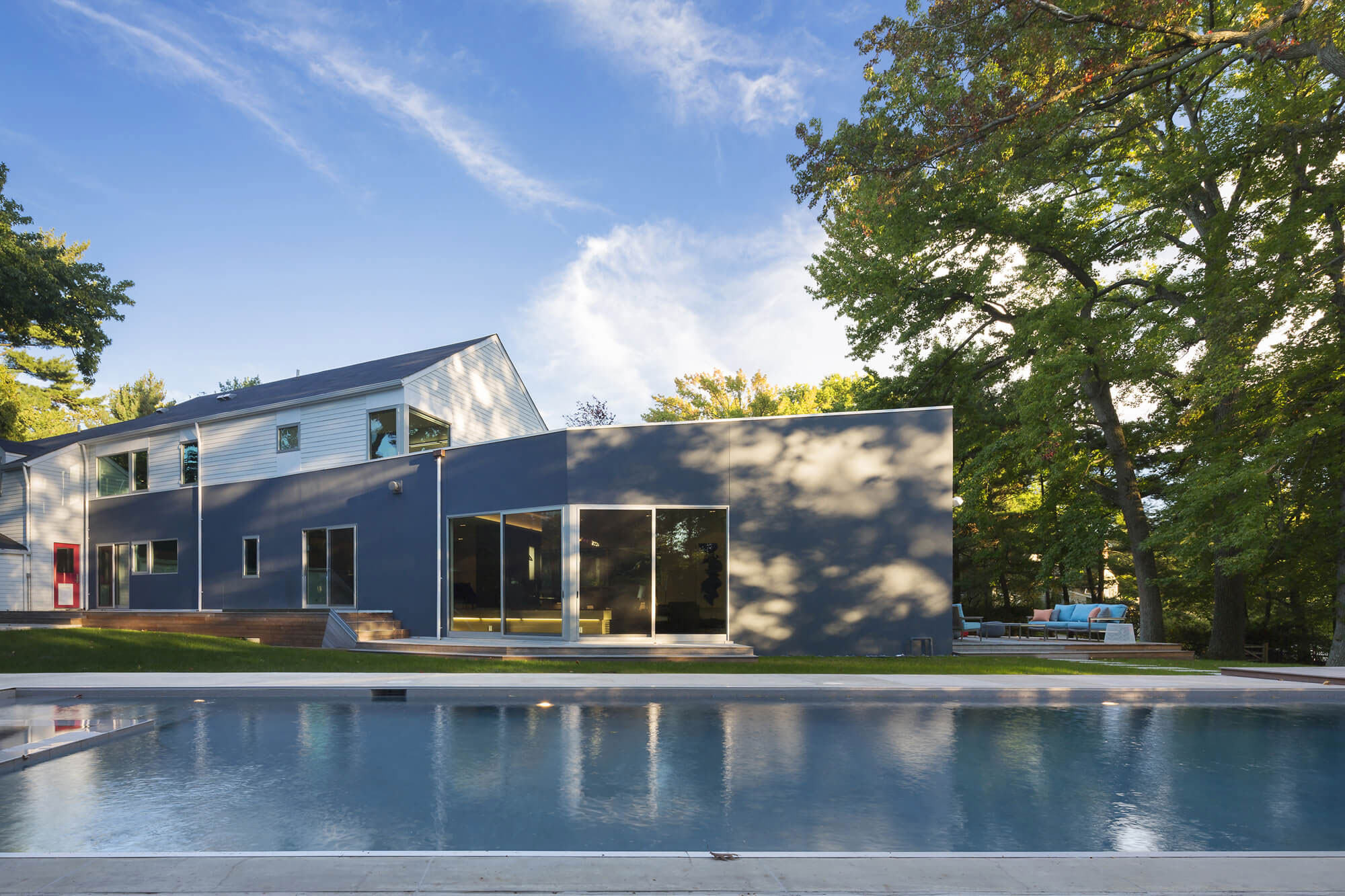 Westchester Colonial Style House by Fougeron Architecture-06