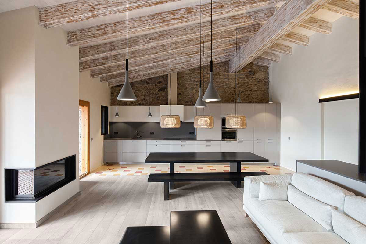 Wood Warmth House Rehabilitation in La Cerdanya by Dom Arquitectura-06