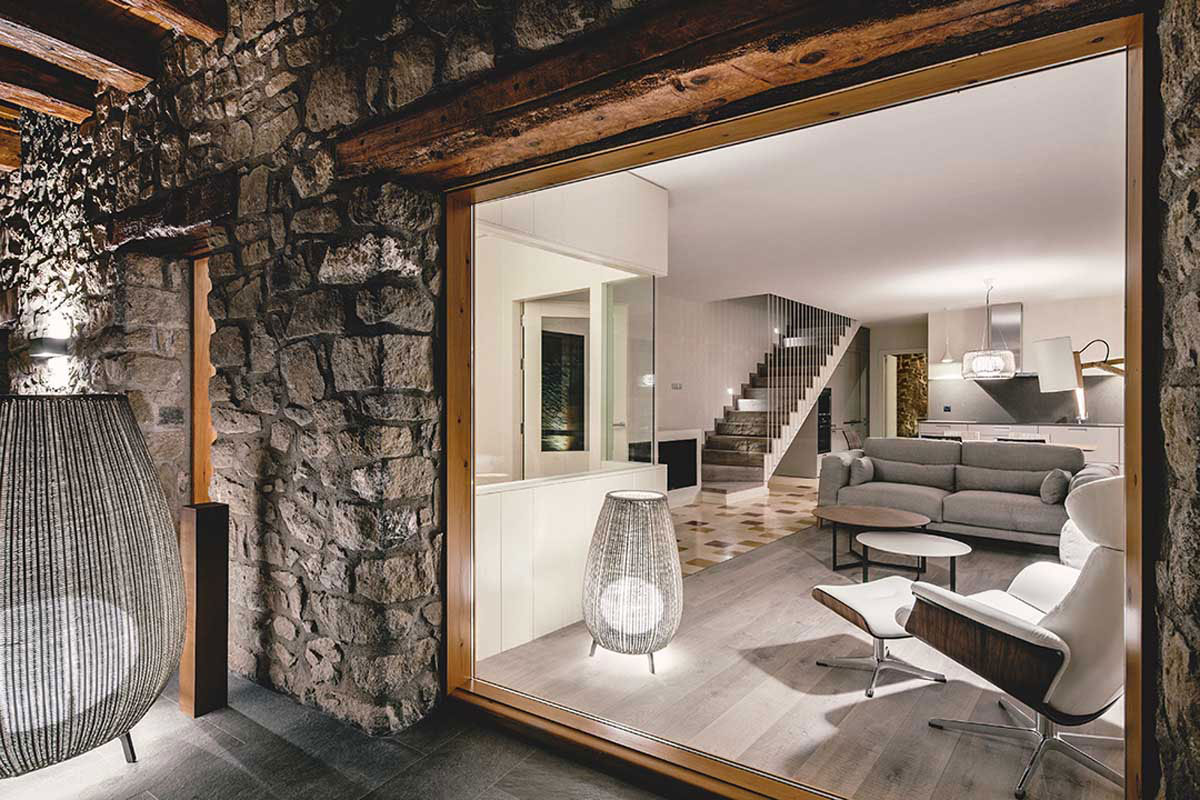 Wood Warmth House Rehabilitation in La Cerdanya by Dom Arquitectura-12