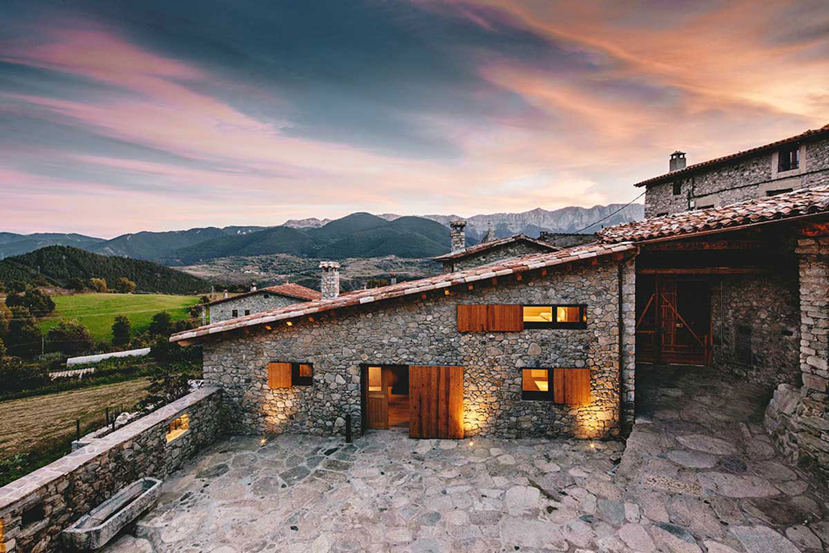 Wood Warmth House Rehabilitation in La Cerdanya by Dom Arquitectura-13