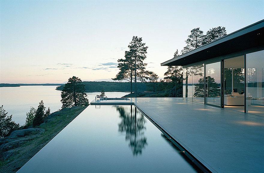 Överby Lake House near Stockholm by John Robert Nilsson Arkitektkontor-01
