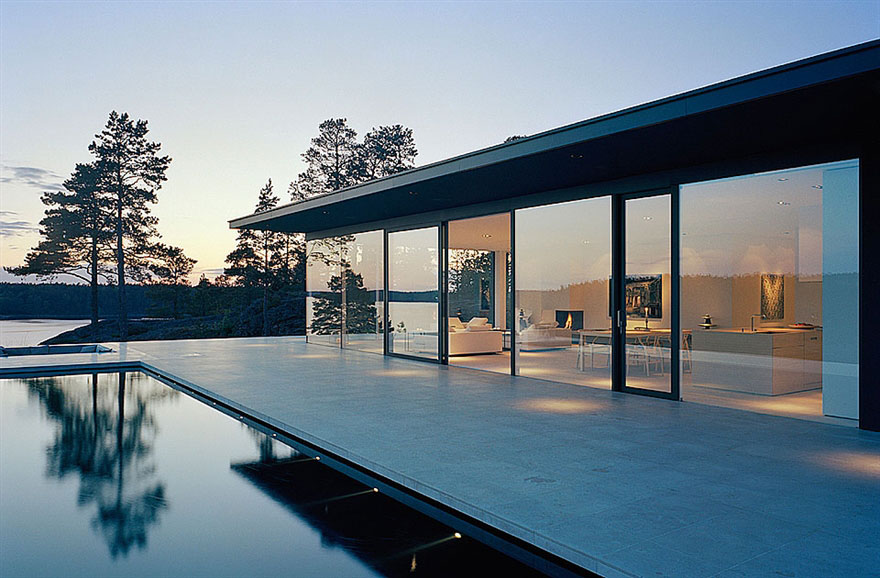 Överby Lake House near Stockholm by John Robert Nilsson Arkitektkontor-02