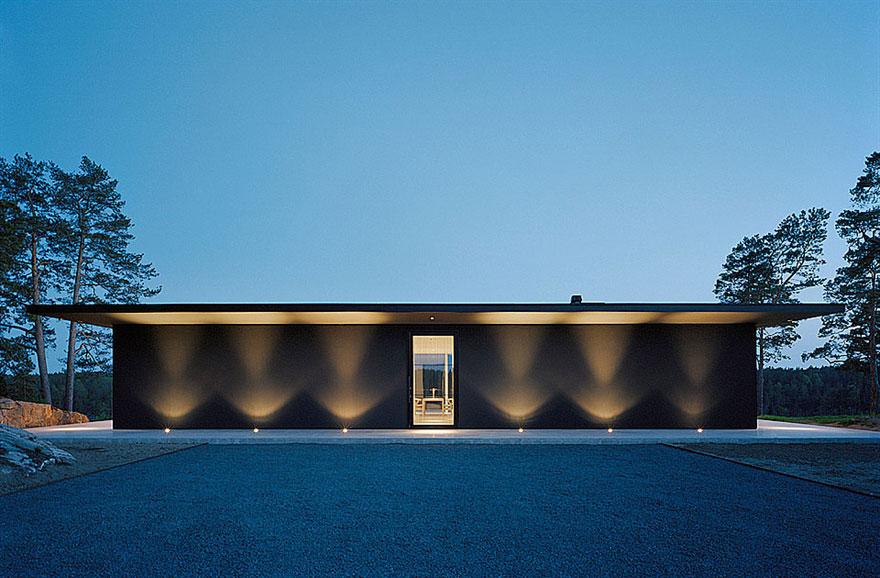 Överby Lake House near Stockholm by John Robert Nilsson Arkitektkontor-05
