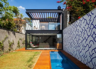 7x37 House in São Paulo by CR2 Arquitetura