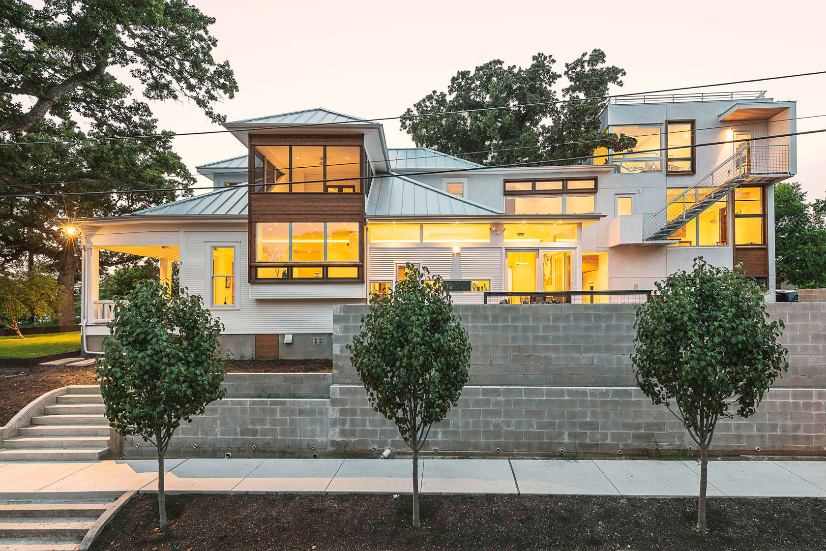 9th Street House in Austin by Tom Hurt Architecture-14
