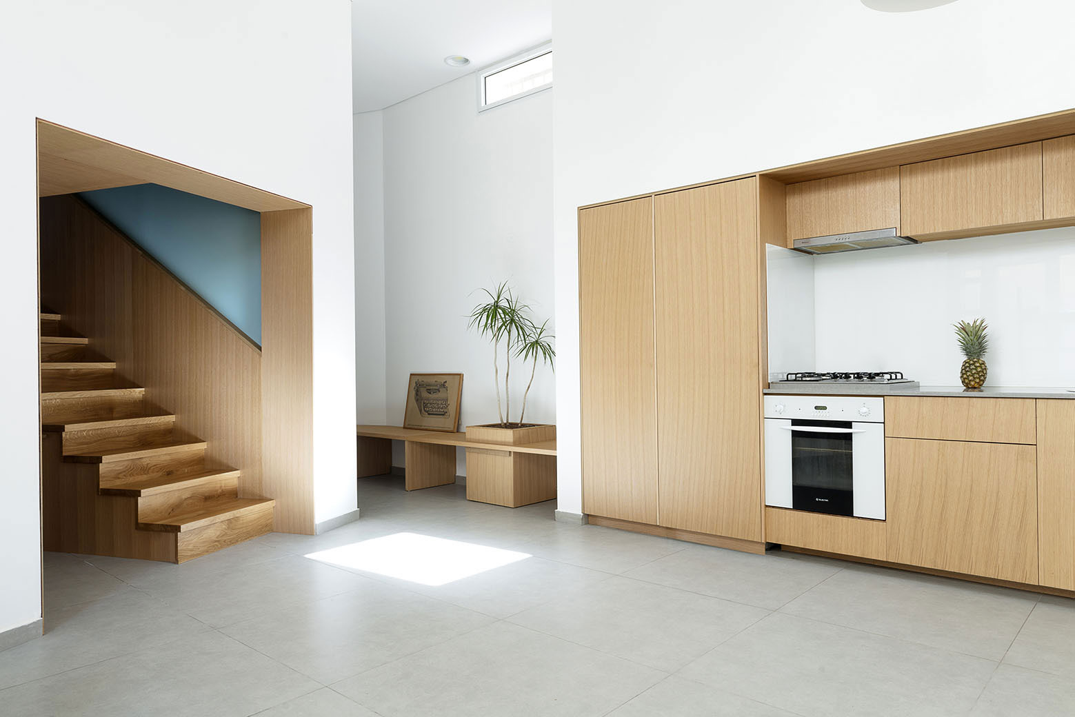 Adjusting a Mish-Mash of Small Rooms and Corridors into Jaffa Garden Apartment by Itai Palti-06