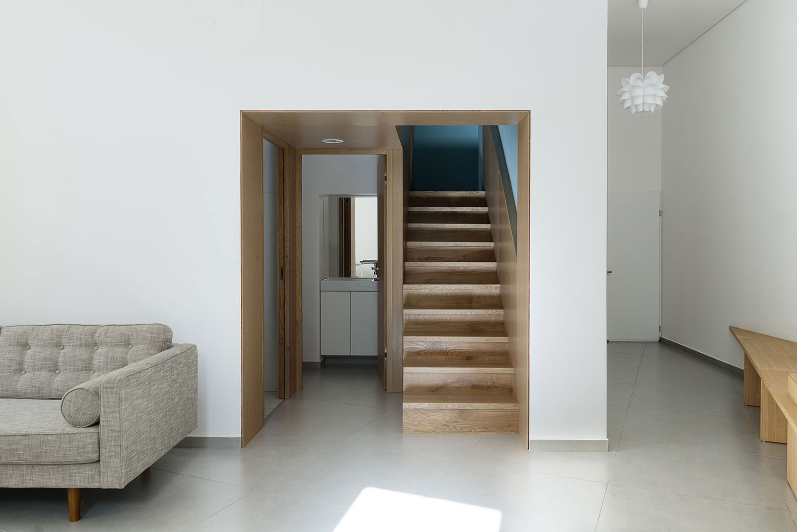 Adjusting a Mish-Mash of Small Rooms and Corridors into Jaffa Garden Apartment by Itai Palti-07