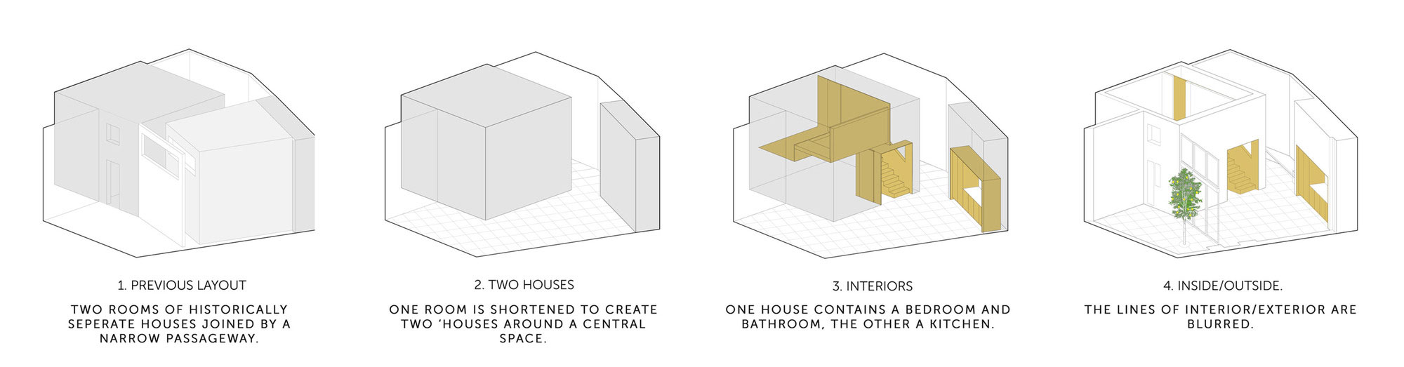 Adjusting a Mish-Mash of Small Rooms and Corridors into Jaffa Garden Apartment by Itai Palti-15