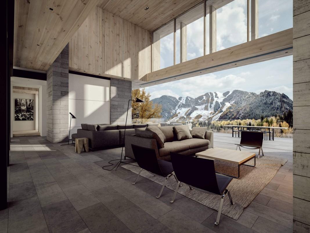 Aspen Mountain Residence by Ro | Rockett Design