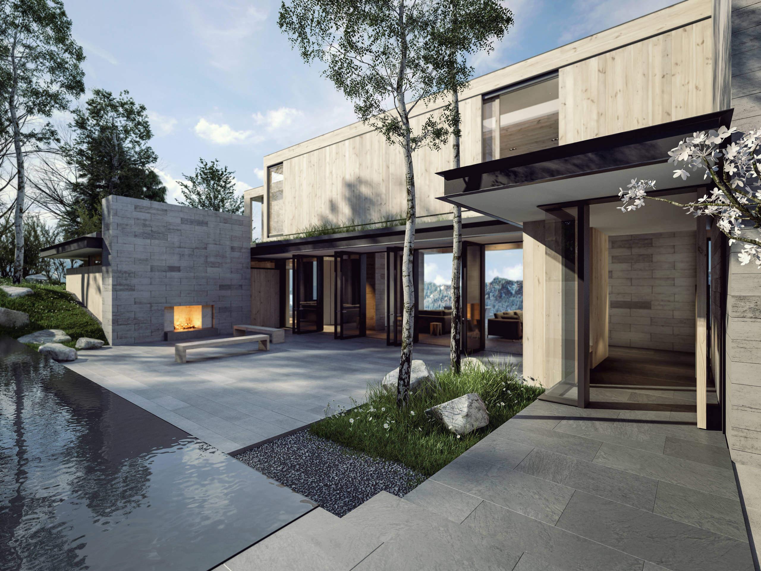 Aspen mountain residence by ro rockett design for Aspen style home designs