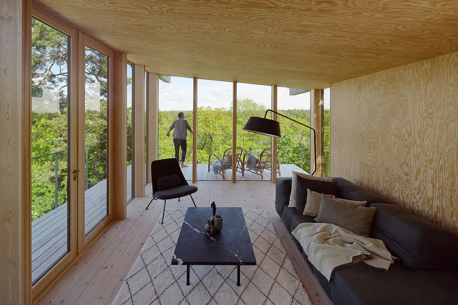 Aspvik privet summer house overlooking Torsbyfjärden by Andreas Martin-Löf Arkitekter-05