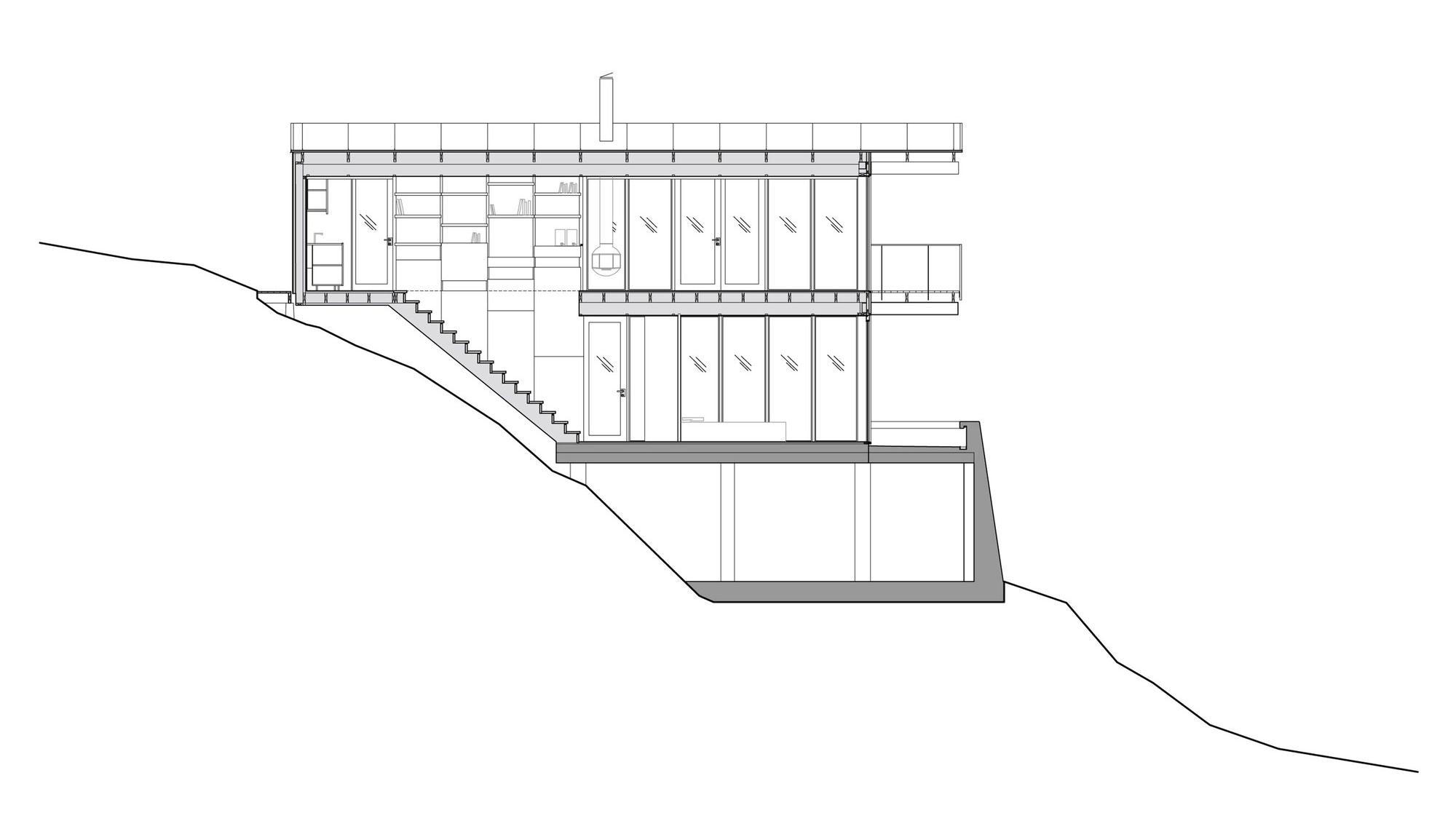 Aspvik privet summer house overlooking Torsbyfjärden by Andreas Martin-Löf Arkitekter-18