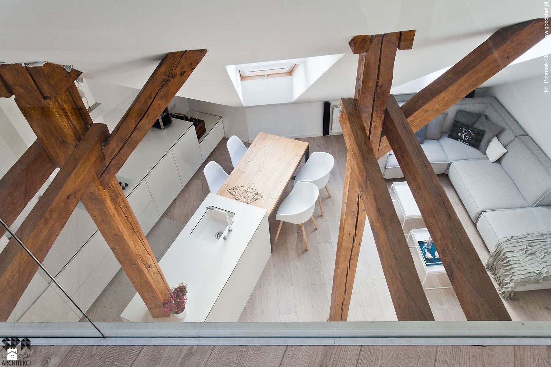 Attic Interior Design of an Apartment in Gliwice by Superpozycja Architekci-02