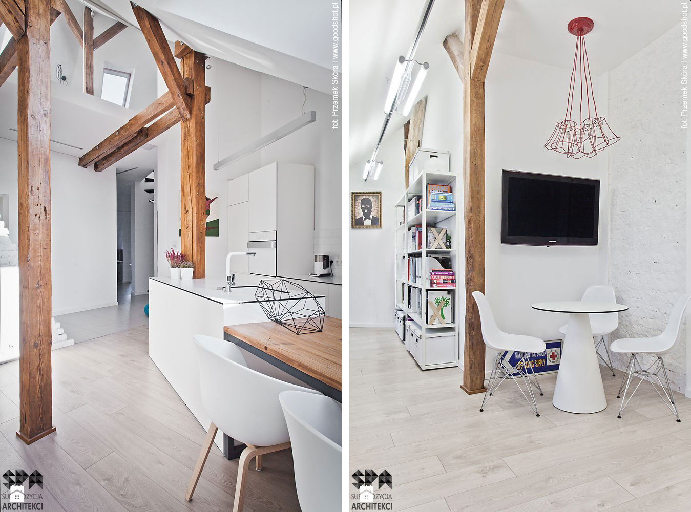 Attic Interior Design of an Apartment in Gliwice by Superpozycja Architekci-06
