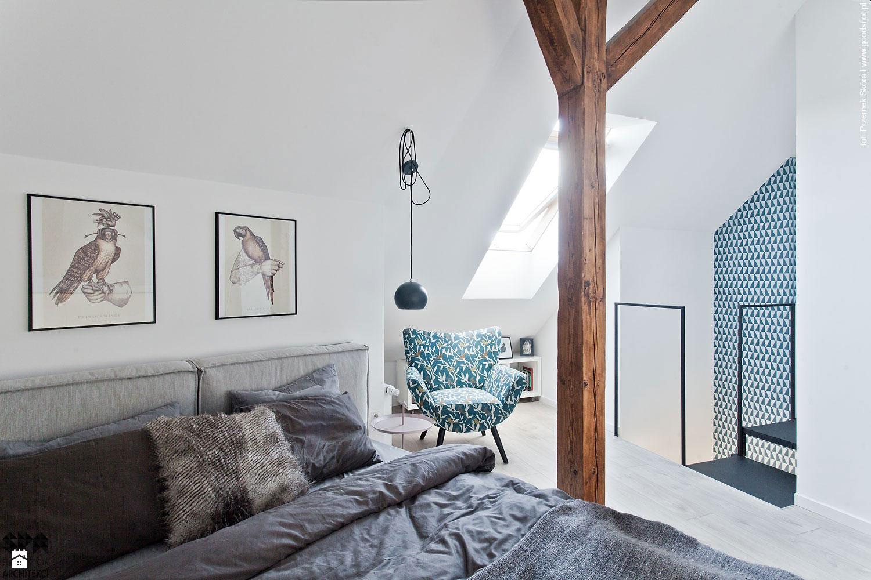 Attic Interior Design of an Apartment in Gliwice by Superpozycja Architekci-07