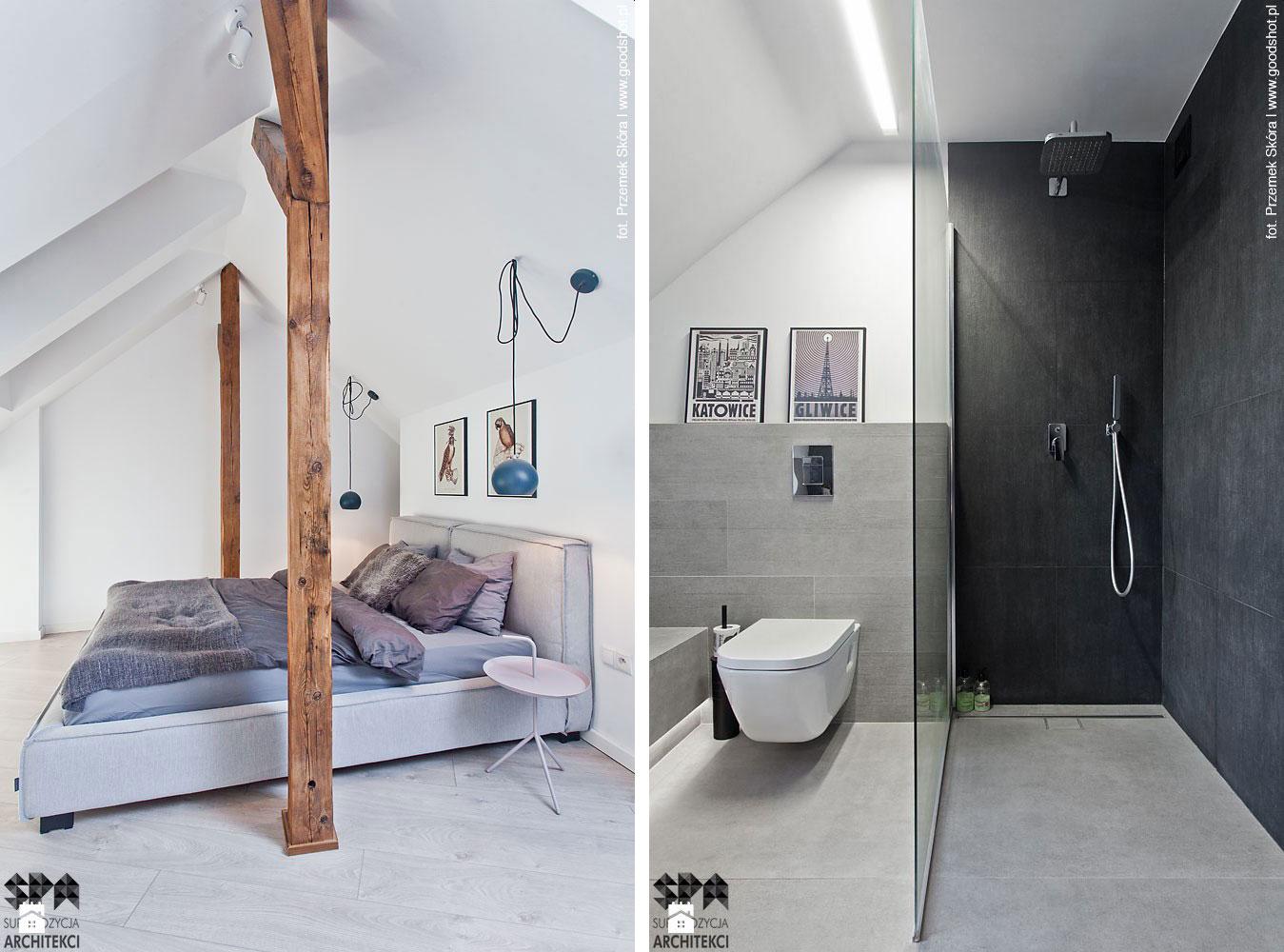 Attic Interior Design of an Apartment in Gliwice by Superpozycja Architekci-08