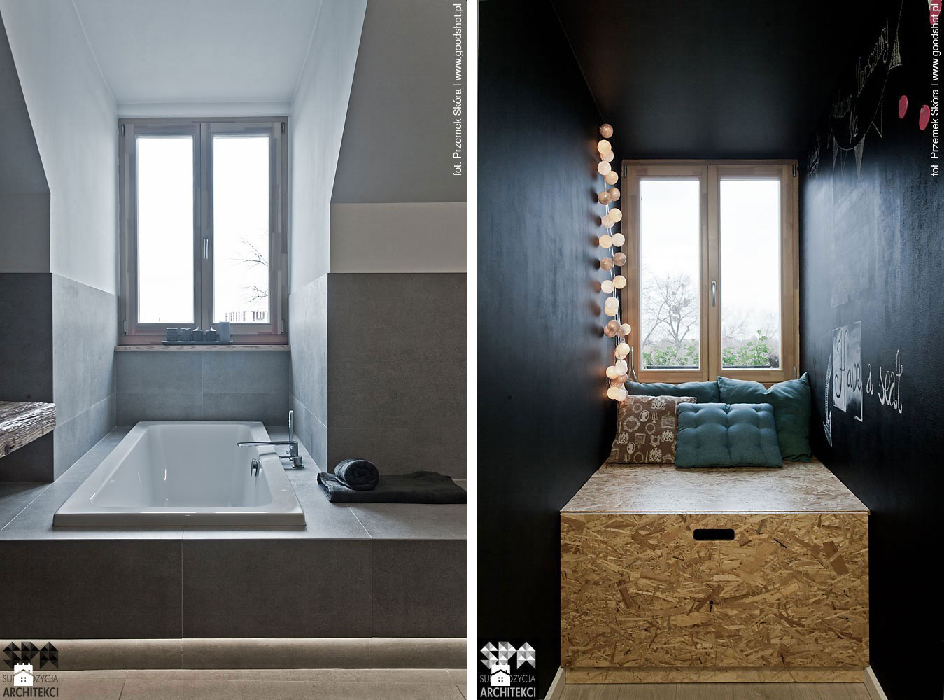 Attic Interior Design of an Apartment in Gliwice by Superpozycja Architekci-12