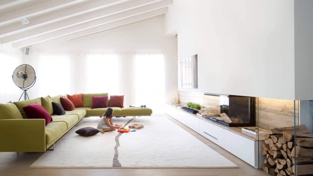 Attic Maffei Penthouse in Verona by ARCStudio PERLINI