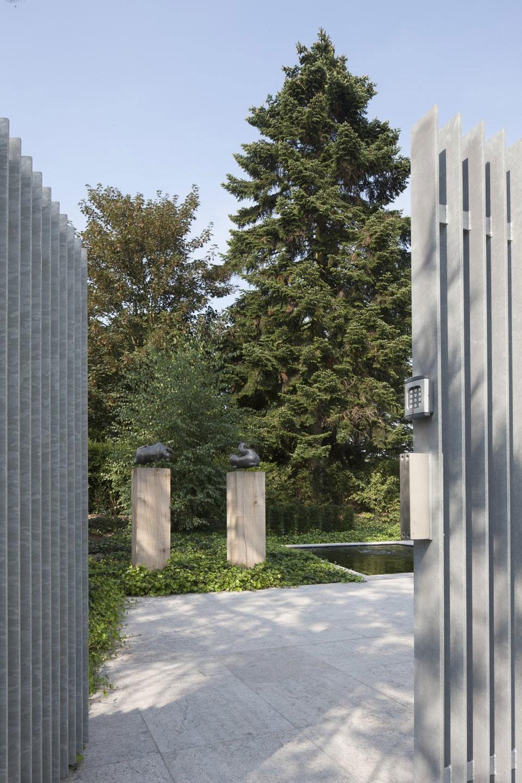 Boxed Villa Spee Haelen with Panoramic Windows by Lab32 architecten-01