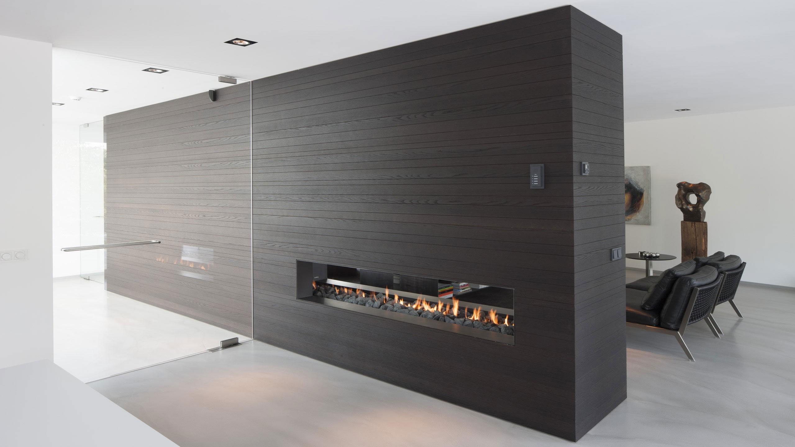 Boxed Villa Spee Haelen with Panoramic Windows by Lab32 architecten-13