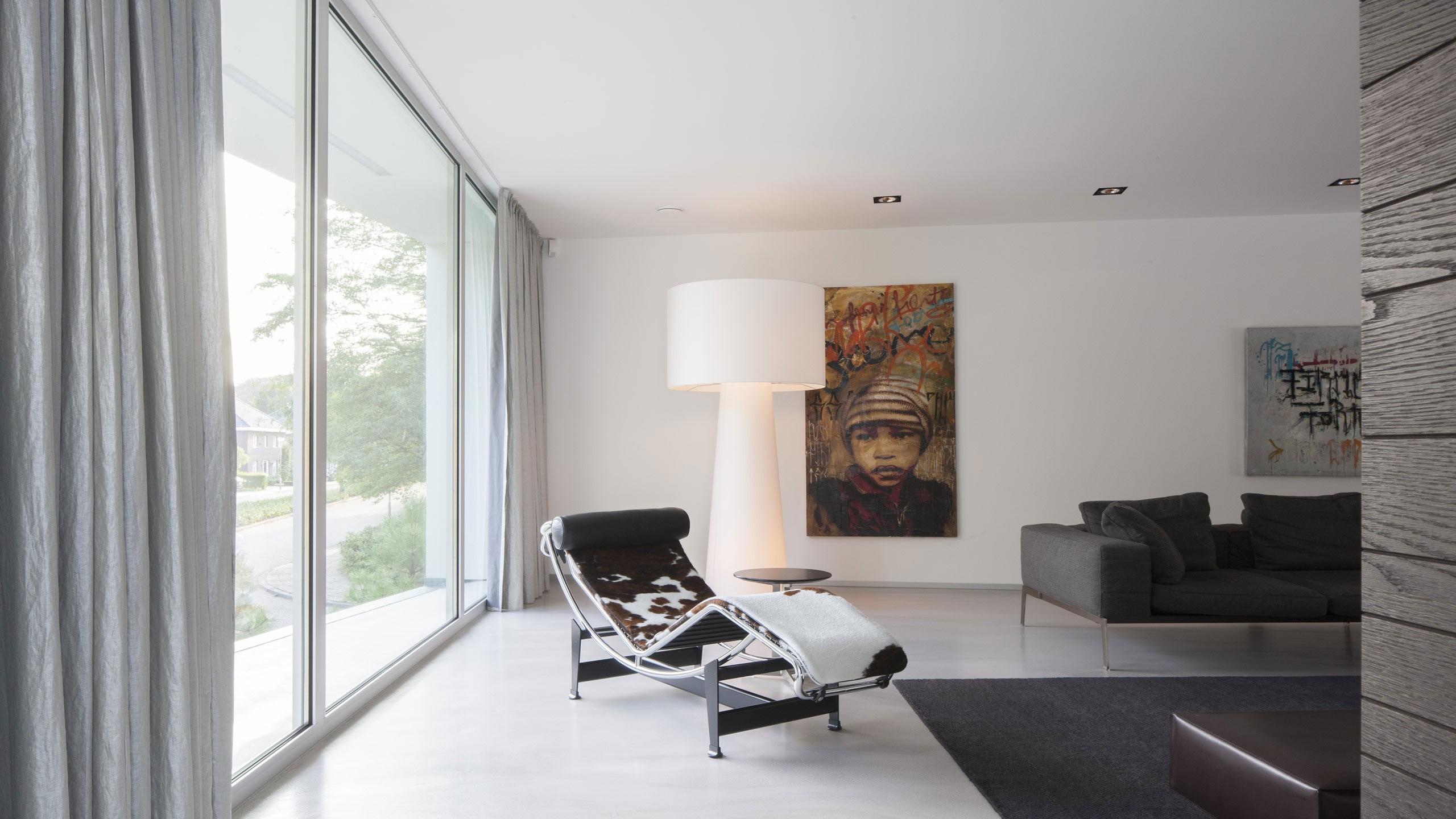 Boxed Villa Spee Haelen with Panoramic Windows by Lab32 architecten-14