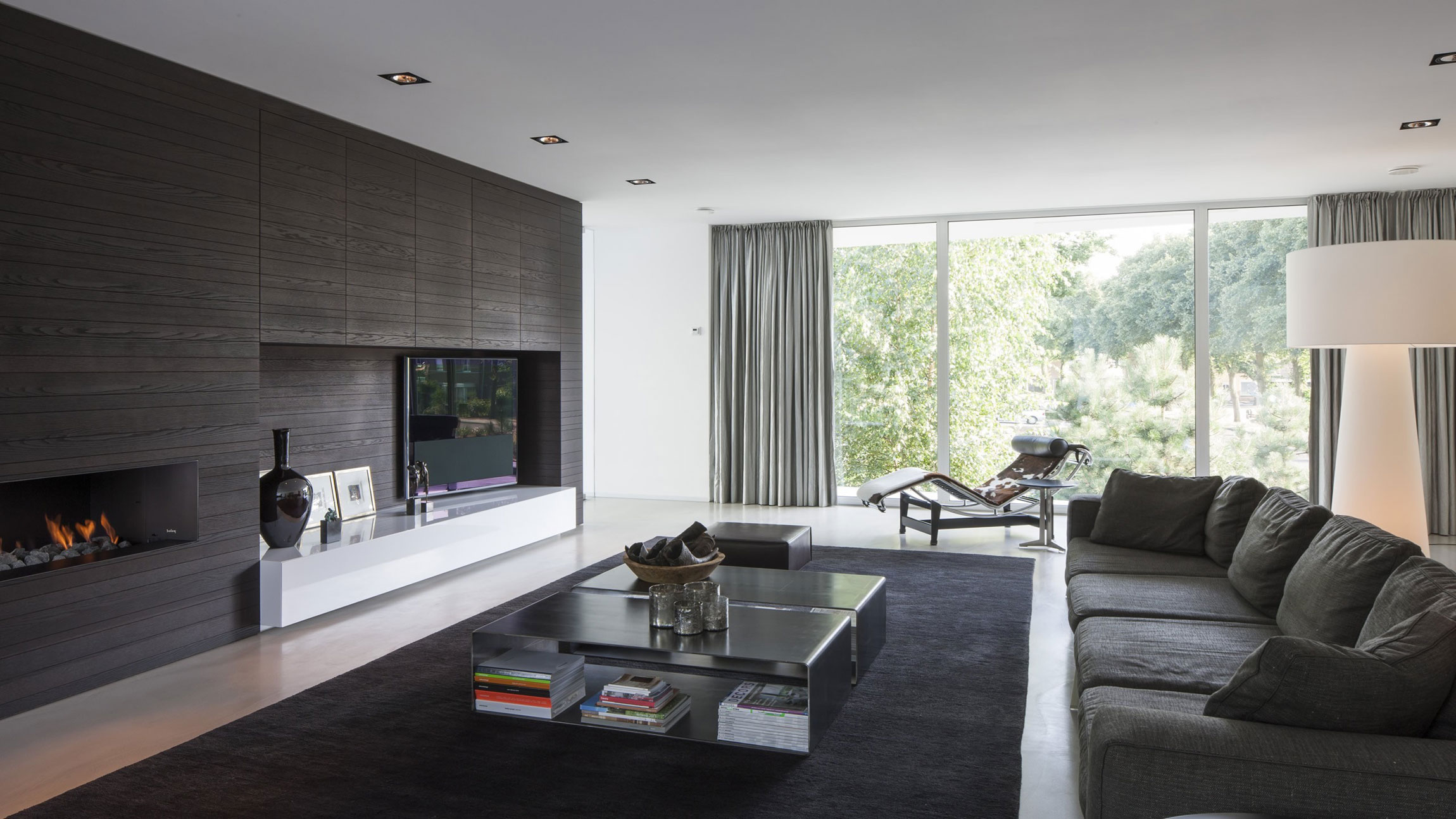 Boxed Villa Spee Haelen with Panoramic Windows by Lab32 architecten-16