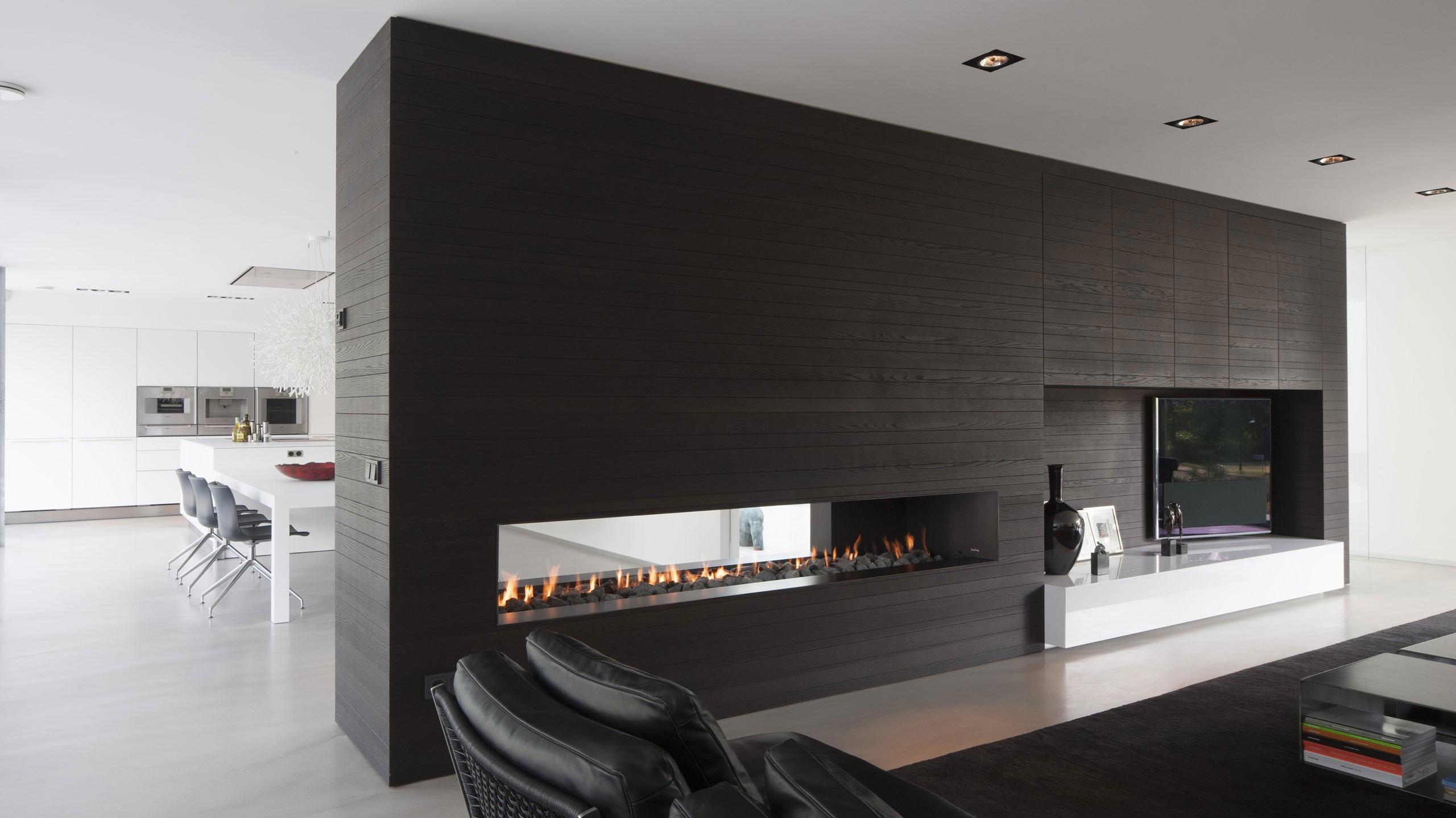 Boxed Villa Spee Haelen with Panoramic Windows by Lab32 architecten-17