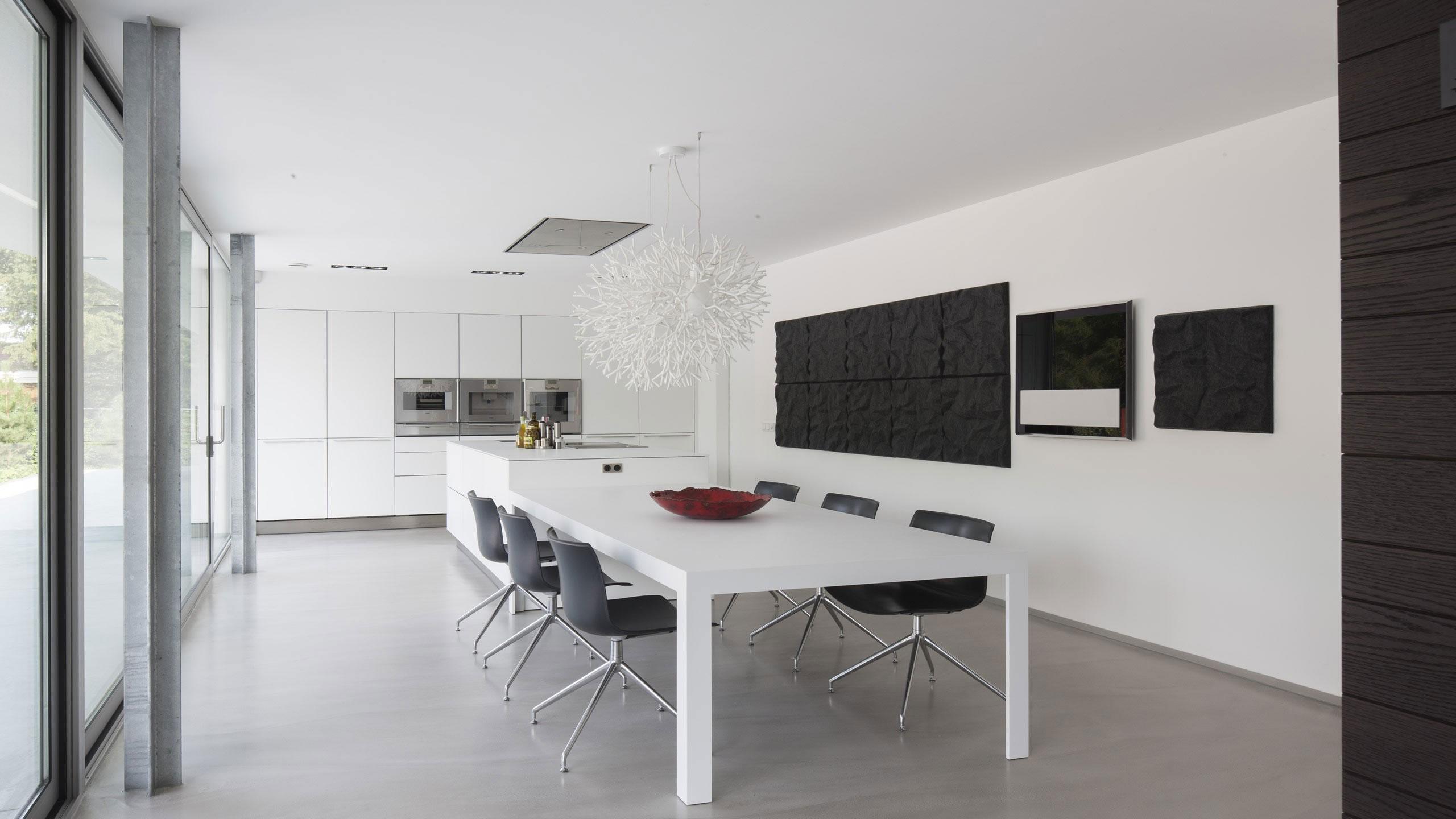 Boxed Villa Spee Haelen with Panoramic Windows by Lab32 architecten-20