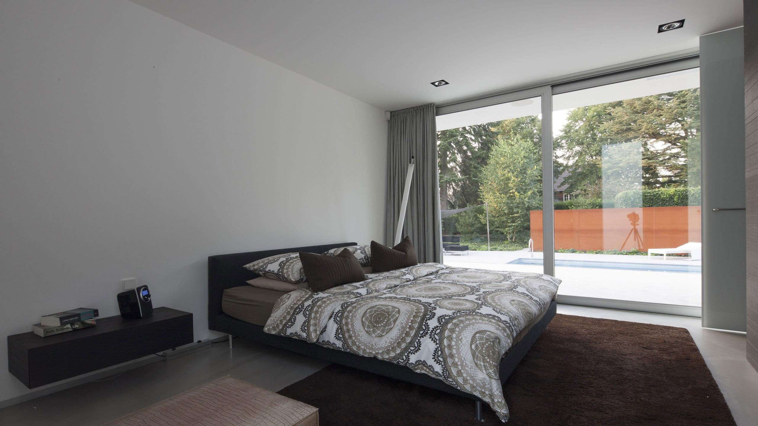 Boxed Villa Spee Haelen with Panoramic Windows by Lab32 architecten-22