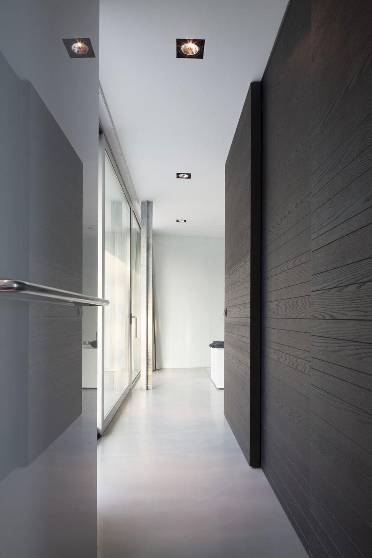 Boxed Villa Spee Haelen with Panoramic Windows by Lab32 architecten-23