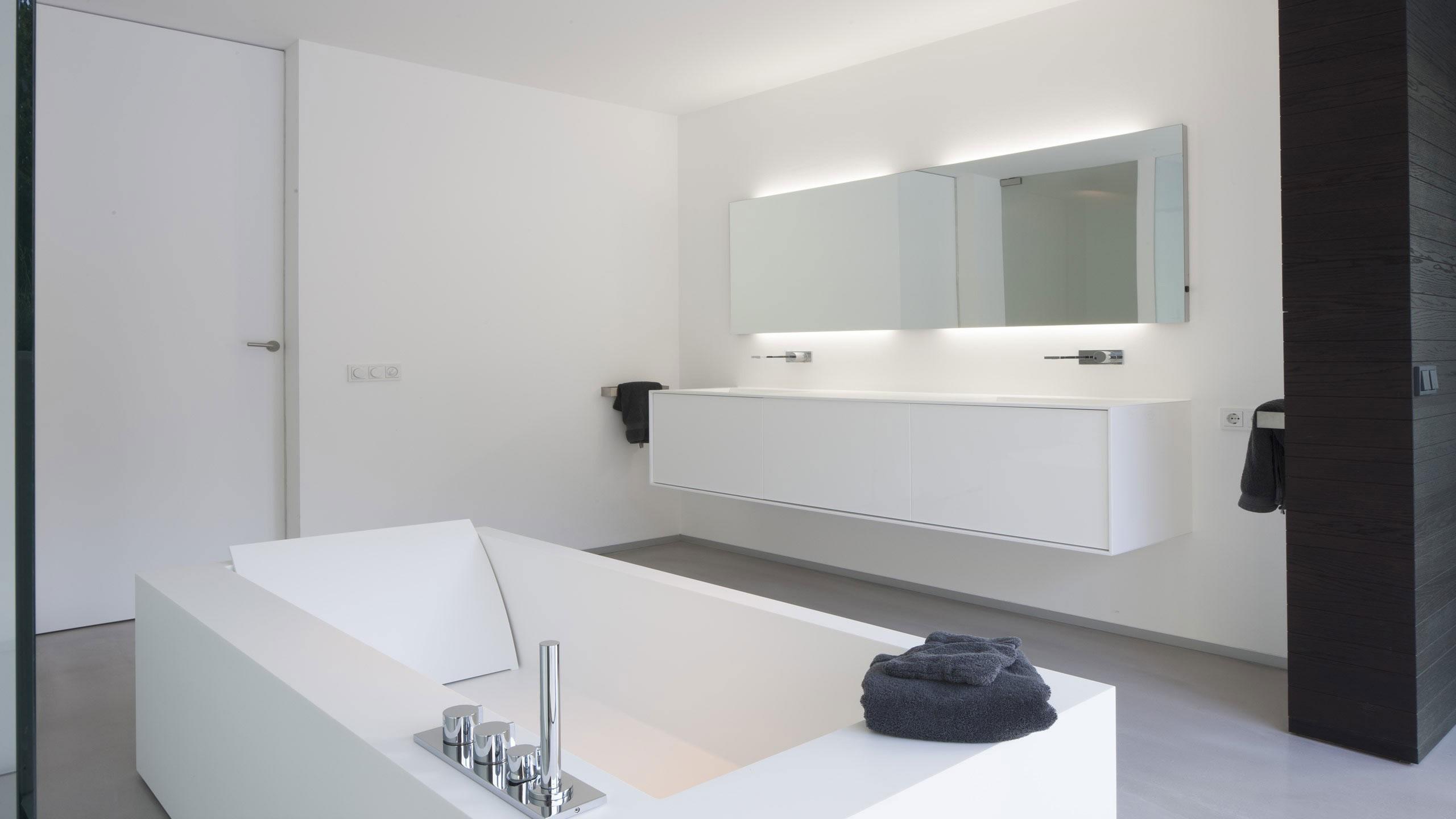 Boxed Villa Spee Haelen with Panoramic Windows by Lab32 architecten-25