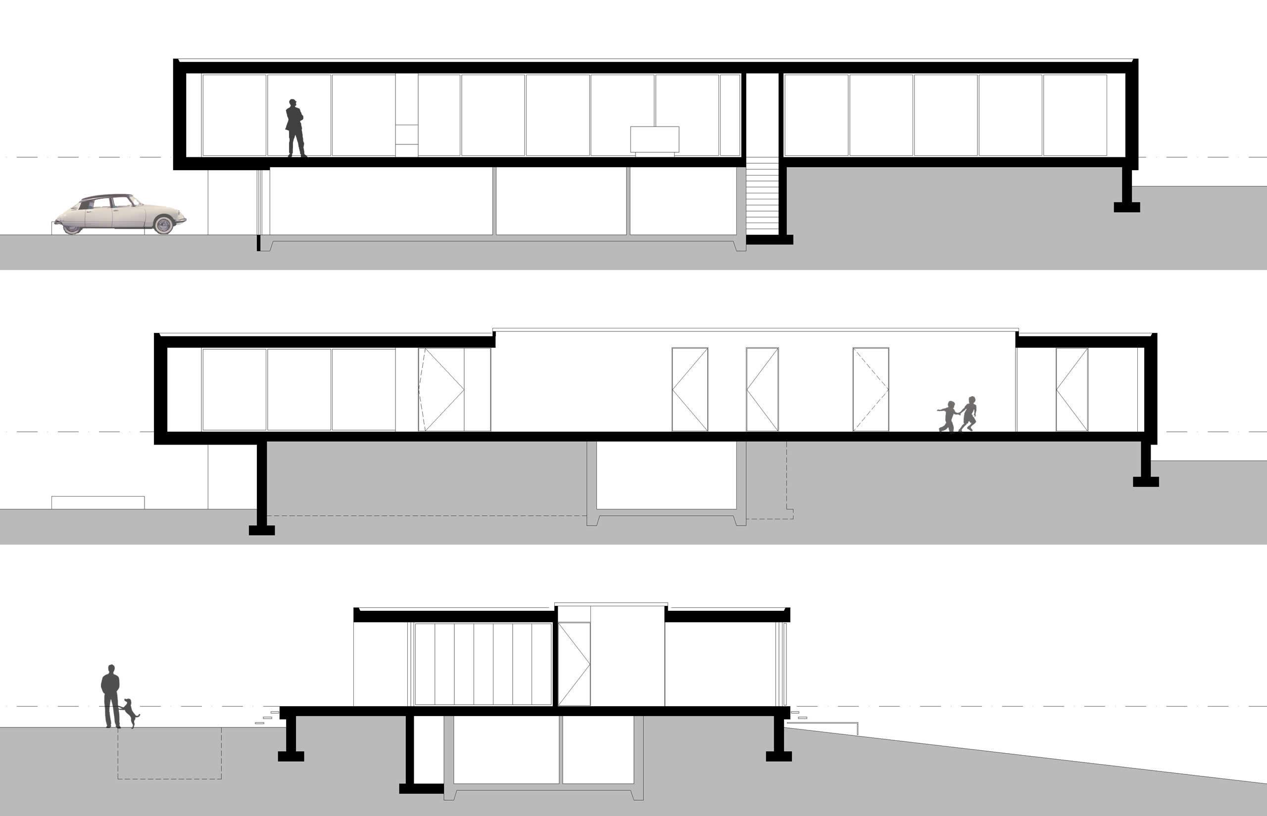 Boxed Villa Spee Haelen with Panoramic Windows by Lab32 architecten-33