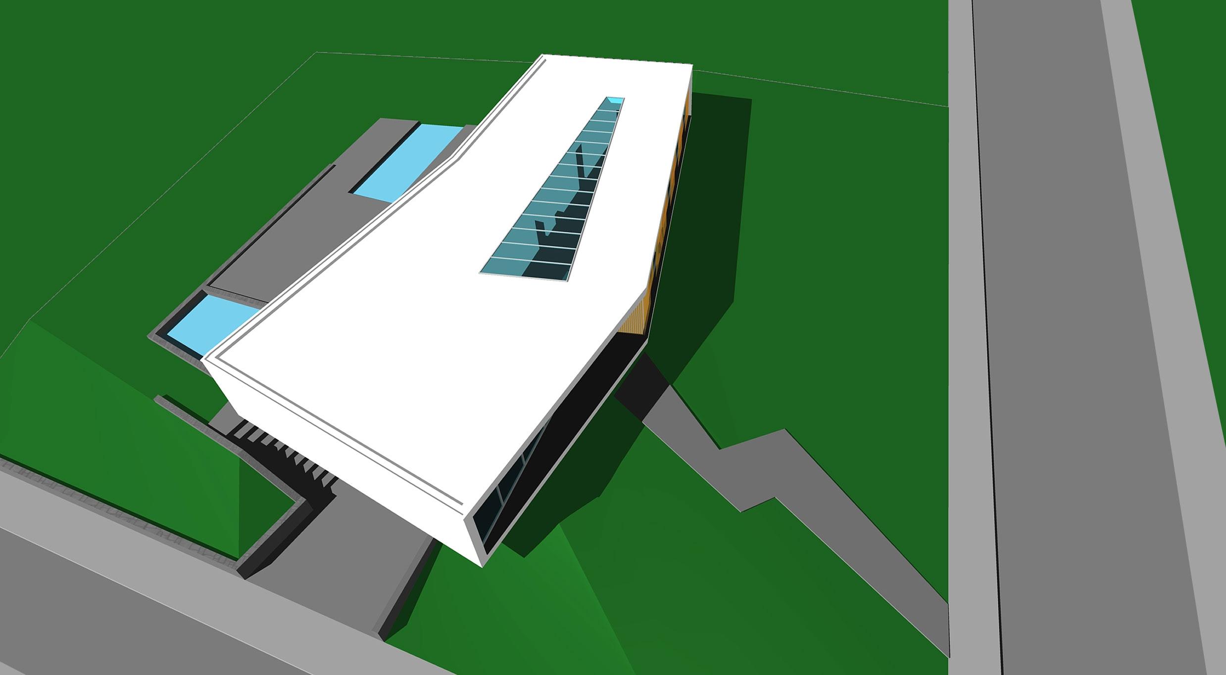 Boxed Villa Spee Haelen with Panoramic Windows by Lab32 architecten-34