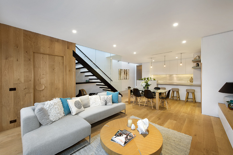 bright and airy two contemporary era home in