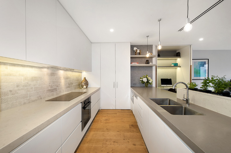 Bright and Airy Two Story Contemporary Victorian-era Home in Melbourne by design by t-03