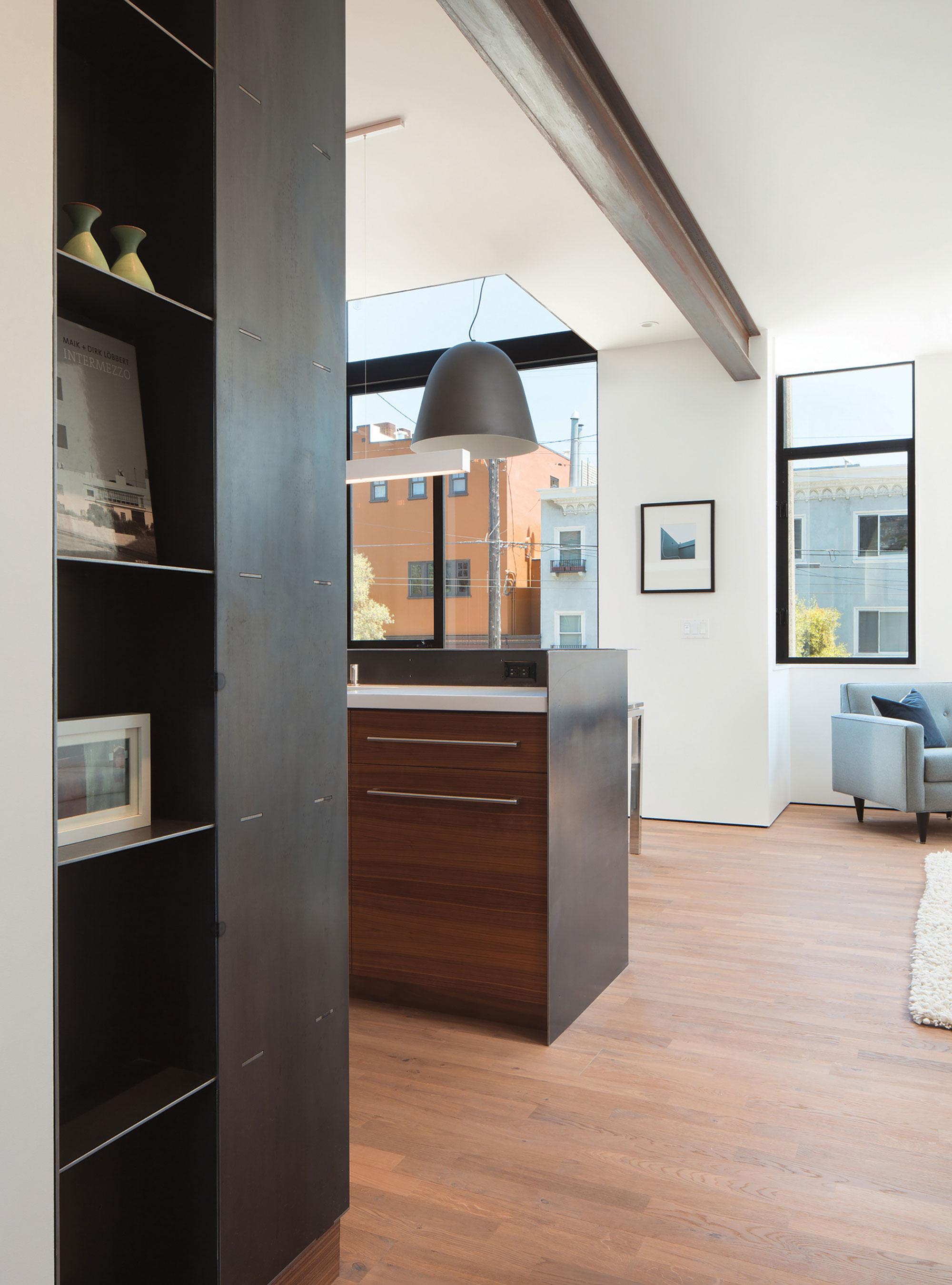 Bright and Elegant Interior Design of Steelhouse 1 plus 2 by Zack de Vito Architecture-04