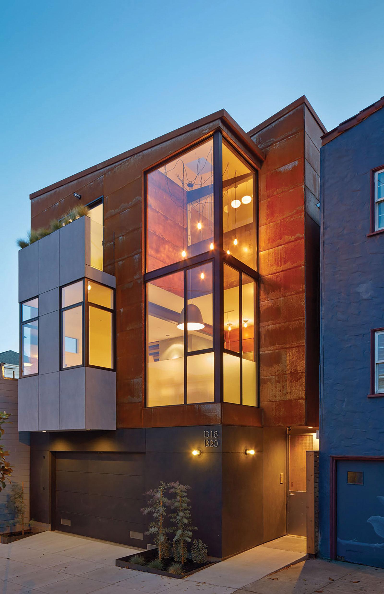 Bright and Elegant Interior Design of Steelhouse 1 plus 2 by Zack de Vito Architecture-11