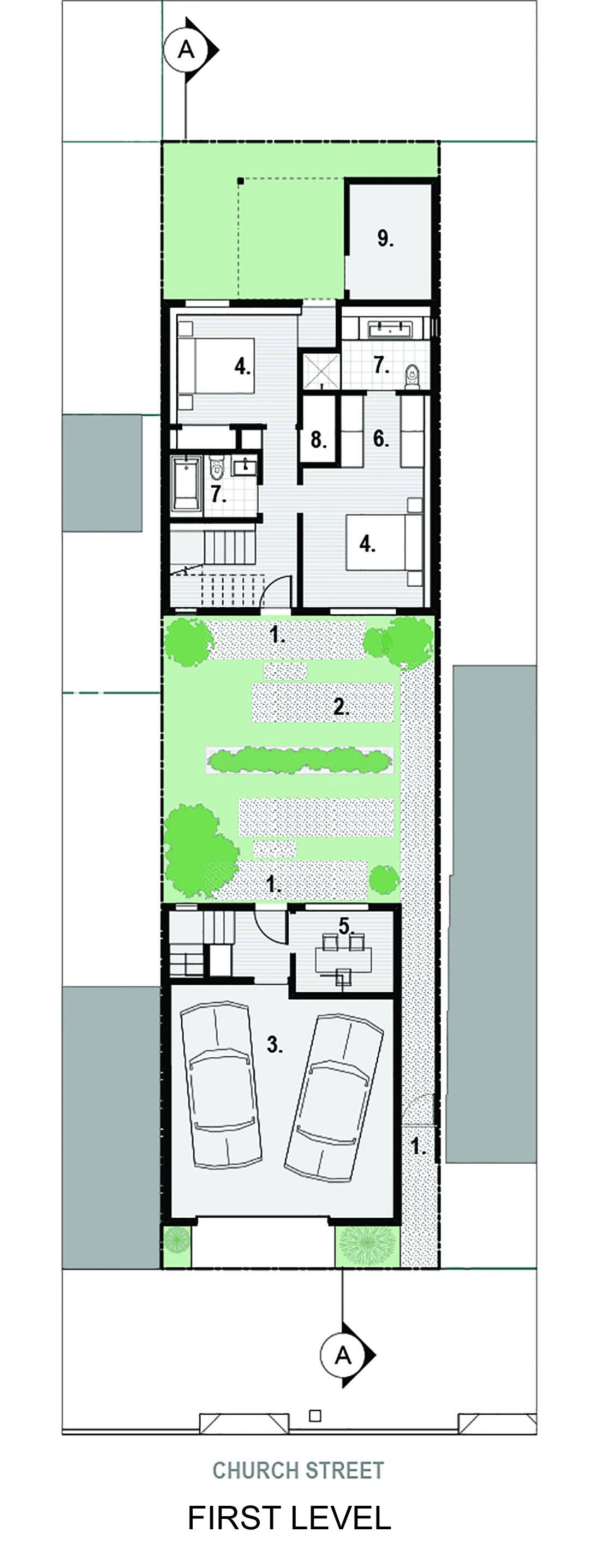 Bright and Elegant Interior Design of Steelhouse 1 plus 2 by Zack de Vito Architecture-13
