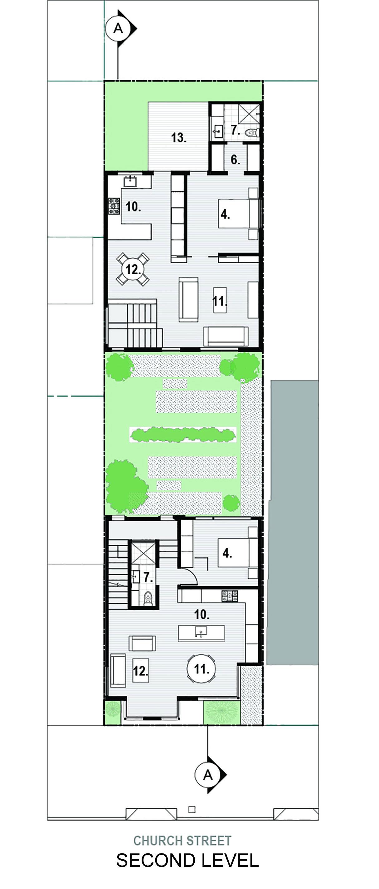 Bright and Elegant Interior Design of Steelhouse 1 plus 2 by Zack de Vito Architecture-14