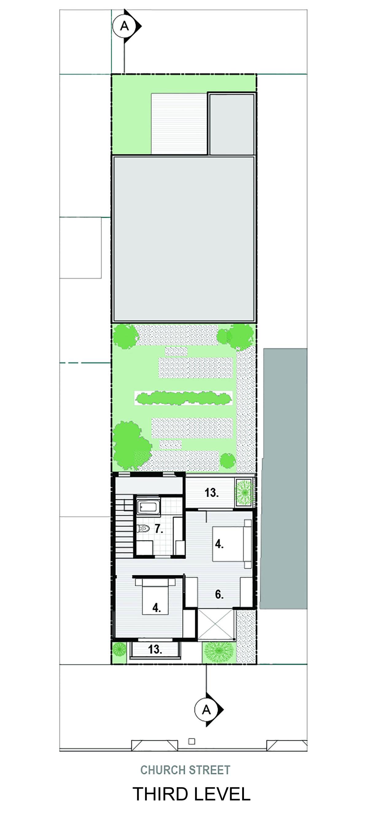 Bright and Elegant Interior Design of Steelhouse 1 plus 2 by Zack de Vito Architecture-15