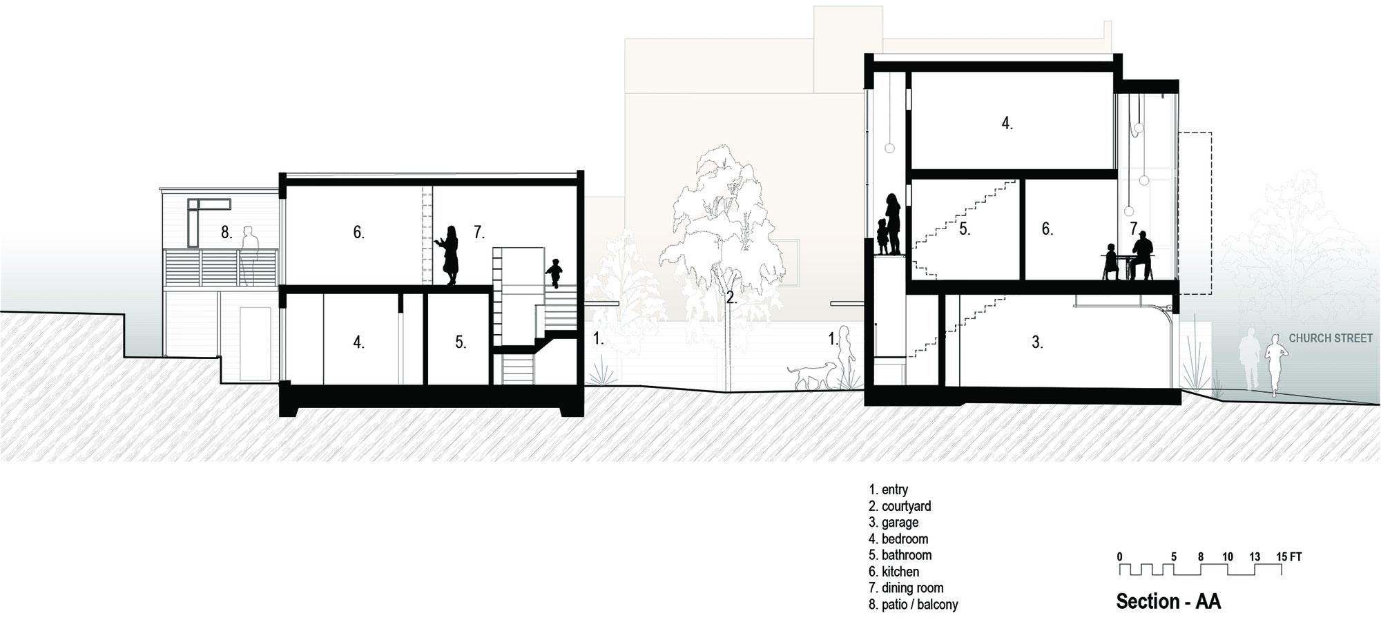 Bright and Elegant Interior Design of Steelhouse 1 plus 2 by Zack de Vito Architecture-19