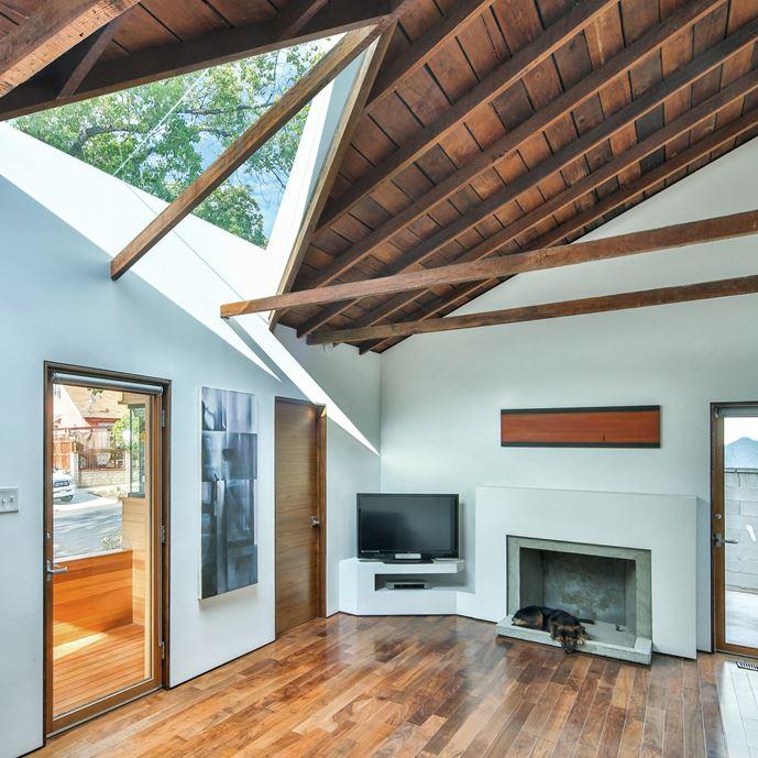 Bungalow remodelled into Wooden Fenlon House by Martin Fenlon Architecture-02