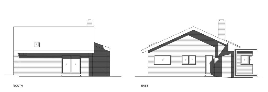 Bungalow remodelled into Wooden Fenlon House by Martin Fenlon Architecture-11